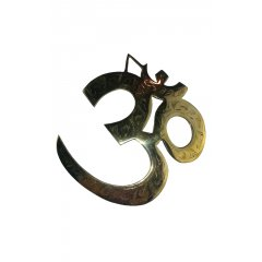 Brass Om Symbol Wall Plaque/Hanging Buddhism Hinduism Spirituality Peace -Medium Brass Om Symbol Wall PlaqueHanging Buddhism Hinduism Spirituality Peace  Medium  Om Mani Padme Hum is the most common mantra in Tibet In. Please Click the image for more information.