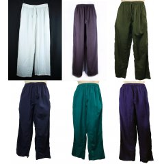 Cotton Flax Indian style Elastic Waist Pants-Hippy, Boho, Casual, Meditate, Yoga Traditional Unisex Pants with Elastic Waist made using CottonFlaxFlax is two to three times stronger than cotton making it one of the strongest natural fibres known Ble. Please Click the image for more information.