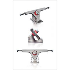 Longboard truck Caliber 50 degree 9'/10' (set) The ultimate longboard truck The Fifty Caliber is stable at high speeds while also having an optimal angle for making strong carves . Please Click the image for more information.