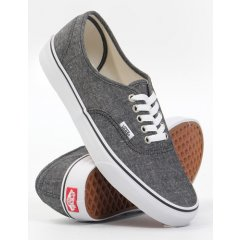 Vans Authentic (Classic Chambray) Black shoes Vans Authentic Classic Chambray Black shoes Please Click the image for more information.