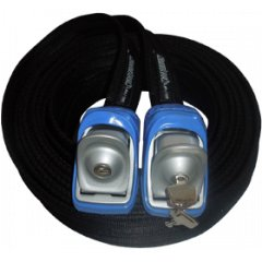 Kanulock Lockable Tie Downs 5.4m Blue SPT Technical SpecificationsThe SPT Lockable Tie Down has been designed to secure kayaks canoes or anything requiring that little bit of extra strap length Des. Please Click the image for more information.