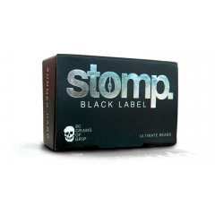 Stomp Black Label Wax Available for both winter and summer temperatures Stomp Black Label produces tight bumps for great traction Please Click the image for more information.