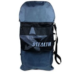 Stealth Basic Bodyboard Cover  1 board capacity 1 storage compartment  carry handle  shoulder strap water resistant Please Click the image for more information.