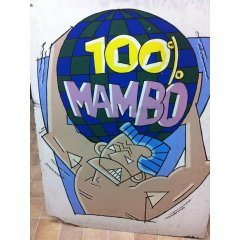 Mambo 2  121 x 91 cm all posters requiring shipping will incur freight charges Please Click the image for more information.