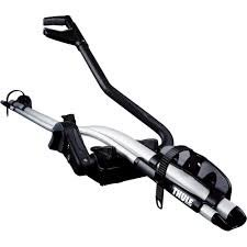 Thule Proride Bike Carrier (591) Light and elegant aluminium designFits bike frames up to 100mm oval 80x100mm round 2280mmThe only roof mounted bike carrier on the market with a capacity to carry bikes up to 20 kgLockable  bike to. Please Click the image for more information.