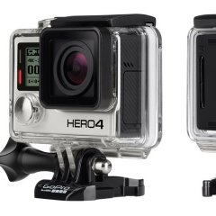 Gopro HERO4 Black Surf 2x the performance yet again Simply the bestFeatures 4K30 27K50 and 1080p120 video 12MP photos up to 30 frames per second builtin WiFi and Bluetooth and Protune for photos and video Waterproof to 13. Please Click the image for more information.