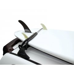 O&E Surfboard Lock   High strength cable with foam protection pads Lock your board to roof of your car Secure for storage Easy to attach and remove Designed for cars with roof racks Please Click the image for more information.