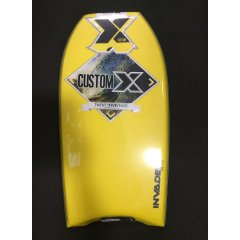 Custom X Invader PE Cres Bodyboard INVADER PE CRESCENTCORE Dow PE CoreEXTRUDED POLYETHELYNE 24LB DENISTY FOAM The traditional bodyboard foam from day one its attributes include instant flex and projectionDECK IXL C. Please Click the image for more information.