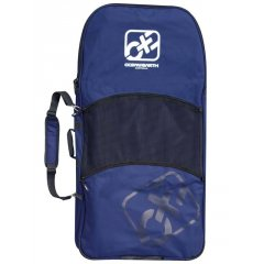O&E Deluxe Bodyboard Cover 12 board capacityPadded back straps withzip away storage2 large front pockets withgauze drain panelDetachable shoulder strap600D fabric Please Click the image for more information.