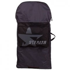 Stealth Bodyboard Bag  1 board capacity 1 storage compartment  carry handle  shoulder strap water resistantRemovable shoulder strapDrainage holes in accessory pocket and main compartmentBackpack straps Please Click the image for more information.