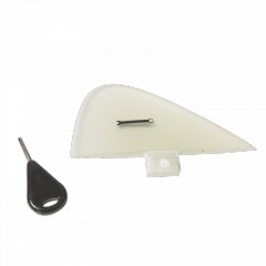 Handplane Spanner Fin This handplane fin is constructed from layered fibreglass sheets and epoxy resin  It fits a standard FCS style single fin plug . Please Click the image for more information.