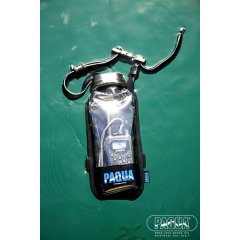 Paqua Clear Case  The PAQUAclear features a clear surface ideal for using mobile GPS iPod UHF and other electronic items whilst inaround waterBased . Please Click the image for more information.