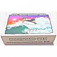 Intricate Shockwave Epic Bodyboard Wax EPIC DK BOARD WAX EXTRA STICKY BUBBLE GUM SCENT FOR THE HARD CORE ENTHUSIAST SNAP  APPLY  INCLUDES STICKERS  Please Click the image for more information.