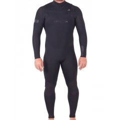 Ocean & Earth Double Black 3/2 Steamer  32mm Glued  Blind Stitched construction Made from 360 Ultra stretch neoprene Fast entry chest Zip Less seams  More stretch Seamless underarms Tough as knee pads Water Shield internal seamspot taping Plush lining panel 12 months Warranty Please Click the image for more information.