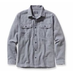 Patagonia L/S FJORD Flannel Shirt Classic flannel patterned shirt made of Earth friendly organic cotton Spread collar with a buttonup front and twobutton chest pockets Ma. Please Click the image for more information.