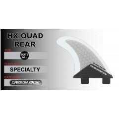Scarfini Rear Quad HX EquilibriumA well balanced template with a medium base and medium tip ideal for any type of surfboard in all wave conditionsAn . Please Click the image for more information.