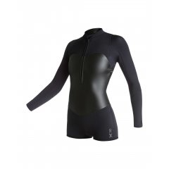 ROXY XY 2mm Satin Black LS Springsuit ROXY Ladies XY Collection 2mm Long Sleeve Springsuit Wetsuit  Ready for a big day out this XY 2mm long sleeve springsuit kicks ass like Catwoman Featur. Please Click the image for more information.