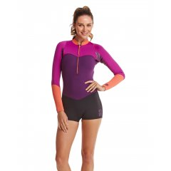 Roxy XY 2mm LS Springsuit ROXY Ladies XY Collection 2mm Long Sleeve Springsuit Wetsuit  Ready for a big day out this XY 2mm long sleeve springsuit kicks ass like Catwoman Featur. Please Click the image for more information.