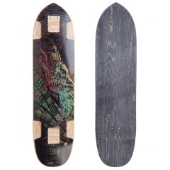 Valhalla Freki Skate Deck The Freki is a perfect blend of freeride and freestyle The deck is lightweight for tricks but still long enough for high speeds . Please Click the image for more information.