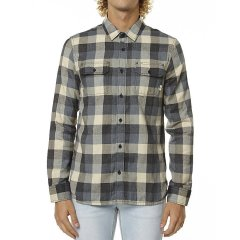 Vans Alameda Mens L/S Shirt Colour Black SlateMade from 65 Cotton and 35 PolyesterFlannel button front shirtAll over plaid detailFront patch pockets with flap and button close on chestButton up sleeve cuffsCurved hemline Please Click the image for more information.
