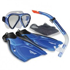 Land and Sea Dolphin Snorkel Set The Dolphin snorkelling set features a dry tip with splashguard and purge which is great for beginners who may not be used to snorkelling. Please Click the image for more information.