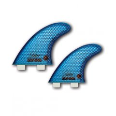 3DFins Moonrakerr XDS Quad Blue Twin Tab This Quad has refined foils and added dimples turn this model into a super quad The rear fins have dimples on both faces reducing any extra drag and allowing for tighter radius turns B. Please Click the image for more information.