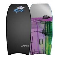 "Manta Drive 38"" Bodyboard A Durable PE Core with a fibre glass stringer and a classic board shape The Manta Drive is the board for the rider looking for that extra performance T. Please Click the image for more information."