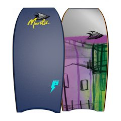 "Manta Phantom 40"" PE Bodyboard A Durable PE Core coupled with duel stringers and a powerful board shape The Manta Phantom is the optimum board choice for beginner through to intermediate riders 2. Please Click the image for more information."