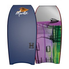"Manta Hurricane 42"" PP Bodyboard An infinite classic in the Manta Bodyboard rangeLightweight fast and strong PP core with a signature oldschool shape complemented by a raised nose bar for those two handed power carvesThis boa. Please Click the image for more information."