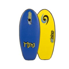 """El Nino 37"""" Mini Softboard The Mini is a fun board for junior riders who are just getting the feel for the oceanFeatures Soft Bumper Rails Quality EPS Core Stringer Leash Included HDPE Slick Finless Please Click the image for more information."""