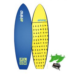 """El Nino Flow 6"""" Softboard Specifically tailored traditional templates to suit the junior riderThis board lacks nothing and is packed full of quality materialsJust . Please Click the image for more information."""