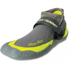 Sea To Summit Ultra Flex Booties The Ultra Flex Bootie has been redesigned to improve comfort and protection while youre paddling Upgrades include new Adjustable Heel Lock System laminated rubber sole and a redesigned footbed that will give you confidence inside and out of your kayak Th. Please Click the image for more information.