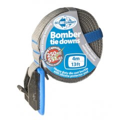 Sea To Summit 4m Bomber Tie Downs  General purpose tie down suitable for all types of canoes kayaks surf boards skis snowboards or the excess trailer loadbFea. Please Click the image for more information.