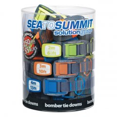 Sea To Summit 2m Bomber Tie Downs  General purpose tie down suitable for all types of canoes kayaks surf boards skis snowboards or the excess trailer loadbold. Please Click the image for more information.