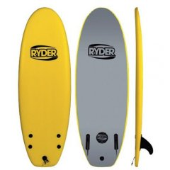 """Ryder Prodigy Series 58"""" Twin Fin bFEATURESbDECK Water Barrier SkinSTRINGERS 2 x Reinforced StringersCORE100 Waterproof EPS Core with moulded reinforced wooden ply Stringer SystemSLICK DuraHDPE Slick Skin for increased Strength and StiffnessADDITIONAL FEATURES Proven Performance Template with Twin Fin set up and free Leash Thermal Heat Tested for. Please Click the image for more information."""