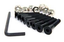 Urban Mounting Bolts (8 Pack) in. Allen Key These Urban Mounting Bolts are ideal for attaching  your skate trucks to your trick decks The mounting pack includes 8 screws 6 nuts and the allen key to fit it all together S. Please Click the image for more information.
