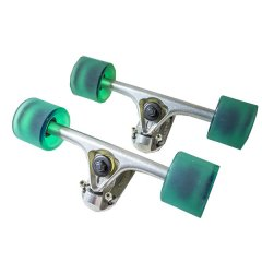 Fang Complete Longboard Hardware Pack Got a spare deck  Built yourself a longboard  Tan this crazy deal is for you  $140 for a complete set of longboard cruiser hardware trucks wheels bearings and mounting hardware price dropped from $220  Fang . Please Click the image for more information.