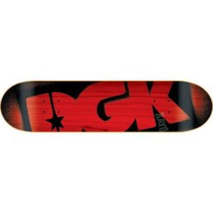 """DGK Logo Deck - Red 7.8"""" Dirty Ghetto Kids Unite as were now carrying the DGK staple logo decks  Standard popsicle goodness. Please Click the image for more information."""