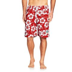 Okanui Cotton Hibiscus Boardshorts These top quality Boardies are made from pure new cotton Elastic waist with draw cord They feature side pockets and a hip pocket Oka. Please Click the image for more information.