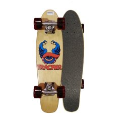 "Tracker Eye 23"" Mini Cruiser Skateboard The realms of mini cruisers have been wowed by this micro skateboard  At 23 long and 6 wide this little ripper is built for the casual commuter but skated by all   . Please Click the image for more information."