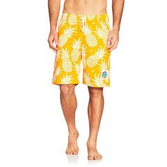 Okanui Long Cotton Boardshorts Pineapple These top quality Boardies are made from pure new cottonThey feature an elastic waist with draw cord side pockets and a hip pocketOkanui. Please Click the image for more information.