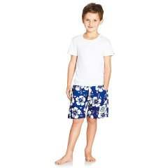 Okanui Kids Boardies These top quality Boardies are made from handprinted cottonElastic waist with draw cord Side pockets and a hip pocketOkanui . Please Click the image for more information.