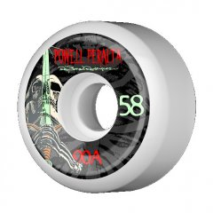 Powell Peralta Rodriguez Skull and Sword Skate Wheel The Powell Rodriguez Skull and Sword Skate Wheel nails the mark  Take a proven street shape stretch it out to 58mm to increase pebble mitigation and crack resistance p. Please Click the image for more information.