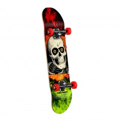 "Powell Peralta Ripper Storm 8"" Complete Skateboard The classic Ripper is back on these new Powell Complete skateboards  Weighing into the complete game with a topoftherange Powell Deck Skate One trucks and Powell Peralta Wheels  SOL. Please Click the image for more information."