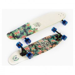 Landyachtz Maple Ripper Tropical Cruiser Longboard The Landyachtz Maple Ripper is an unwieldy destroyer of urban terrain thanks for its immense flexpump power and big fat tail for projecting into space  . Please Click the image for more information.