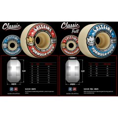 Spitfire Formula 4 101D Classic Full Skate Wheel Spitfire step forward once again with the Formula 4 range not only in urethane but in shape and options . Please Click the image for more information.
