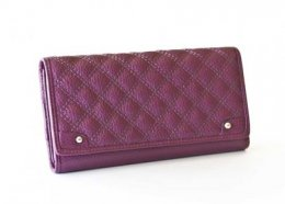 Criss Cross Flap Leather Wallet Purple Flap leather wallet which folds open Great design and colourful Inside two windows and 13 card holders I. Please Click the image for more information.