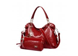 PU Bag Set PU Bag Set of 2 Red Please Click the image for more information.
