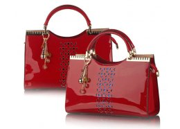 PU Patent Bag PU Patent Bag Red Please Click the image for more information.