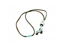 CORK LEATHER JEWELLERY BROWN NECKLACE WITH WHITE CERAMICS CORK LEATHER JEWELLERY BROWN NECKLACE WITH WHITE CERAMICSTamanho nico  One Size  Please Click the image for more information.